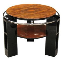 Unusual French Art Deco Gueridon by Louis Sognot
