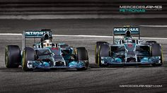 Mercedes AMG Petronas W05 2014 F1 Wallpaper via KFZoom ]