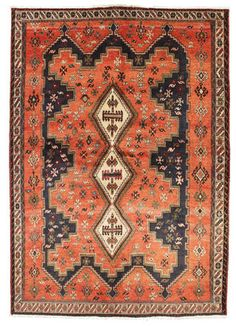 Afshar carpet RZZW3 216x152 cm from Persia / Iran - Buy your carpets at CarpetVista.com