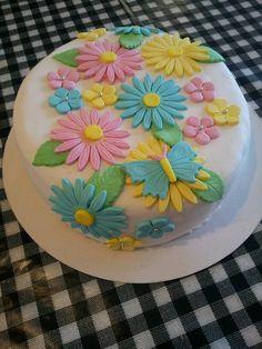 bloenen taart