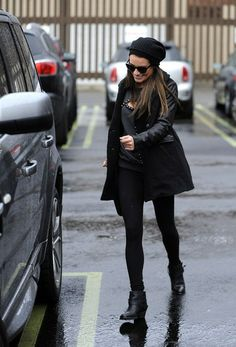 Lea Michele - Lea Michele and Heather Morris Step Out in L.A.