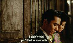 In The Mood For Love, 2000 dir. Wong Kar Wai - english summer rain.