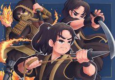 Scorpion Mortal Kombat, Mortal Kombat Art, Mortal Combat, Mileena, Gears Of War, Dragon Ball, Video Games, Geek Stuff, Anime