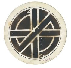 Christ the Auction: Crass drumhead goes up for auction at Sotheby's