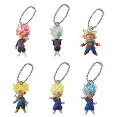 Dragon Ball Gashapon Keychain UDM Burst 20 Future Zamasu