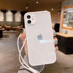Transparent Soft Lanyard Strap iPhone Case - Shop by Vogueen.com