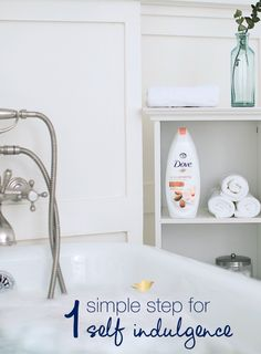 It's a treat to make time for a bath, so when you do, make sure you're getting the most out of the experience. Drop a dollop of Dove Body Wash into the tub for an indulgent bubble bath. Soak in hydrating suds and enjoy the wonderful scent of hibiscus, magnolia, or jasmine as you soothe your senses.