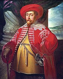 Gustavus Adolphus (1594 - 1632). Son of Charles IX and Christina of Holstein-Gottorp. He succeeded his father as King.