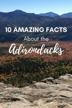 10 more reasons to LOVE the Adirondacks! If you grew up in Upstate New York, or visiting the Park, you know just how special it is!