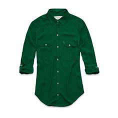 Womens Jorie Shirt - Green