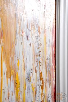 the easiest DIY abstract oil painting tutorial i've found....GREAT for beginners who lack artistic ability! @Elizabeth Smith @Katie Sanford