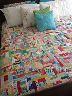 crazy mom quilts: super scrap happy, again