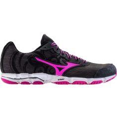 Mizuno Women's Wave Hitogami 2 Running Shoes - BLACK/PINK | DICK'S Sporting Goods