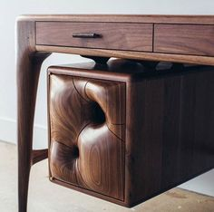 Photo by Casey Johnson Handmade Furniture, Unique Furniture, Sofa Furniture, Furniture Making, Furniture Design, Woodworking Inspiration, Woodworking Furniture, Unique Woodworking, Wood Design