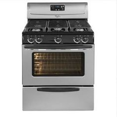 Whirlpool 4.4 cu. ft. Gas Range in Stainless Steel-WFG231LVS at The Home Depot