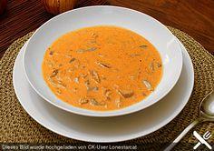 Pikante Gyros - Suppe