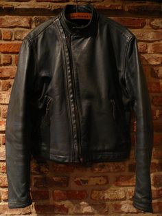 "1960-70s Langlitz Leathers "" SD Cascade "" custom ryders jkt . : CAL DEAN -vintage clothing-"