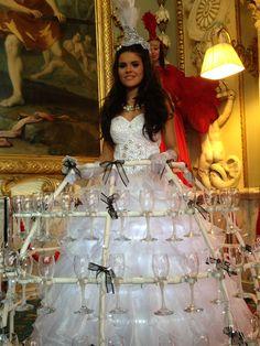 The Champagne Dress #AsianWeddings
