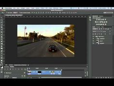 How to edit Video in Photoshop CC and CS6 | The Basics, Photoshop Tutorial - YouTube