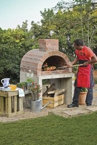 PIZZA PIZZAZZ Simple DIY oven building instructions here!