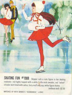 §§§ : Skipper's Skating Fun : Barbie Magazine : November-December 1965