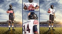 Custom Uniforms Unveiled For Saturday s Army-Navy Game 2014 College Football  Uniforms 278f188e8