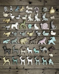 ∷ Variations on a Theme ∷ Collection of vintage McCoy animals