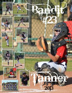Baseball Personalized and Custom Photo Collage by MyStarMemories Softball Photos, Baseball Pictures, Team Pictures, Team Photos, Sports Pictures, Senior Softball, Volleyball Drills, Volleyball Quotes, Volleyball Gifts
