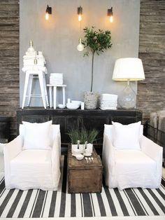 c o z y home decor and interiors stripes