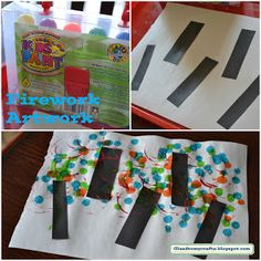 Glued to my Crafts: New Year Crafts-Toddler Style