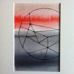 #lonehartmann #art #akvarel #watercolor #circle