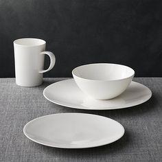 Bennett Round Dinnerware | Crate and Barrel