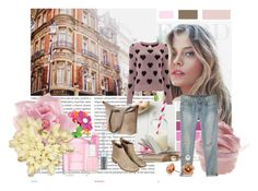 Untitled #136 by elinaek on Polyvore featuring polyvore, fashion, style, Lipsy, R13, Topshop, Red Herring, H&M, LORAC, Marc Jacobs, Essie, Oris, Seed Design, Disney and clothing
