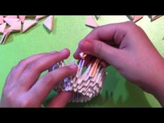 How to make 3D origami swan - http://www.7tv.net/how-to-make-3d-origami-swan/