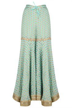 indian fashion Anarkali -- CLICK Visit link above to see Gharara Designs, Salwar Designs, Blouse Designs, Indian Attire, Indian Wear, Indian Outfits, Pakistani Dresses, Indian Dresses, Salwar Kameez