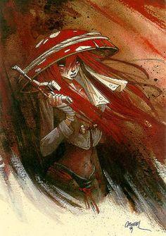 Anita Bomba By : Cromwell Geisha Anime, Strips, 2d Character, Illustration Art, Illustrations, Pulp Art, Character Design Inspiration, Art Reference, Comic Art