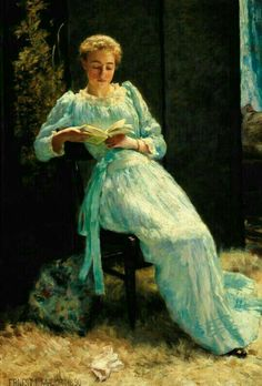 A moment of leisure by Ernest Lee Major, 1890