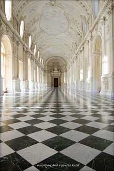 Venaria Royal Palace. Italy