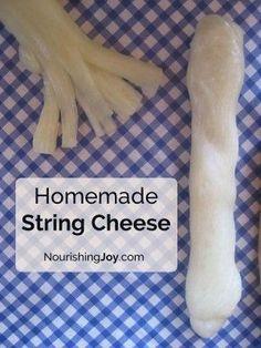 The Homestead Survival | How To Make Homemade Mozzarella String Cheese Recipe | Homesteading - http://thehomesteadsurvival.com
