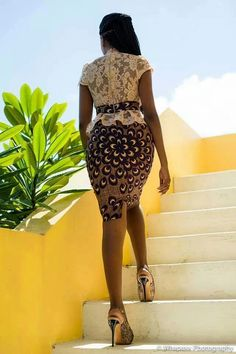 Superbe,Lace and print