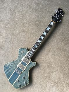 10 years ago my extremely talented luthier cousin gifted me this one-of-a-kind. Still plays like a dream a decade on! Guitar Body, Guitar Art, Music Guitar, Cool Guitar, Acoustic Guitar, Custom Bass Guitar, Custom Electric Guitars, Custom Guitars, Guitar Photos