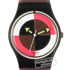 Swatch Neo-Quad LB109 - 1985 Fall Winter Collection