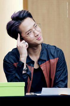 He looks like a really hot teacher....gosh...if only he was my teacher