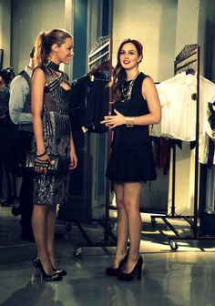 """You categorize your outfits based on whether or not it's a Blair or Serena look. 