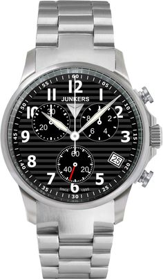 Junkers Watch Tante JU #2015-2016-sale #bezel-fixed #black-friday-special #bracelet-strap-steel #brand-junkers #case-material-steel #case-width-40mm #chronograph-yes #classic #date-yes #delivery-timescale-1-2-weeks #dial-colour-black #gender-mens #movement-quartz-battery #official-stockist-for-junkers-watches #packaging-junkers-watch-packaging #sale-item-yes #style-dress #subcat-tante-ju #supplier-model-no-6890m-2 #vip-exclusive #warranty-junkers-official-2-year-guarantee…