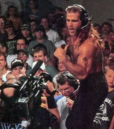 Shawn Michaels. Being adorable.
