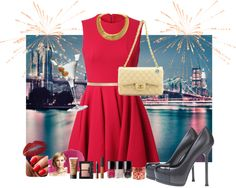 """Sweet & Elegant! A style up tips for your party."" by eranzi on Polyvore"