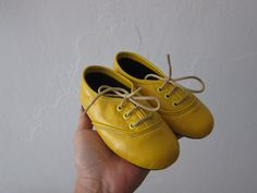 Baby oxfords by goldenponies on Etsy. Custom colors. So cute!