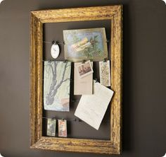 Clip Picture Frame by PB but looks easy enough to DIY