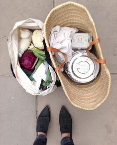 •The Zero Waste Collective• on Instagram: @kate_arnell's cute Zero Waste grocery shopping haul! : @kate_arnell
